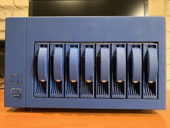 U-NAS NSC-800 Server Chassis Blue (Preowned)