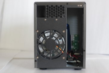 U-NAS NSC-200 2-Bay NAS Server Chassis with Power Supply